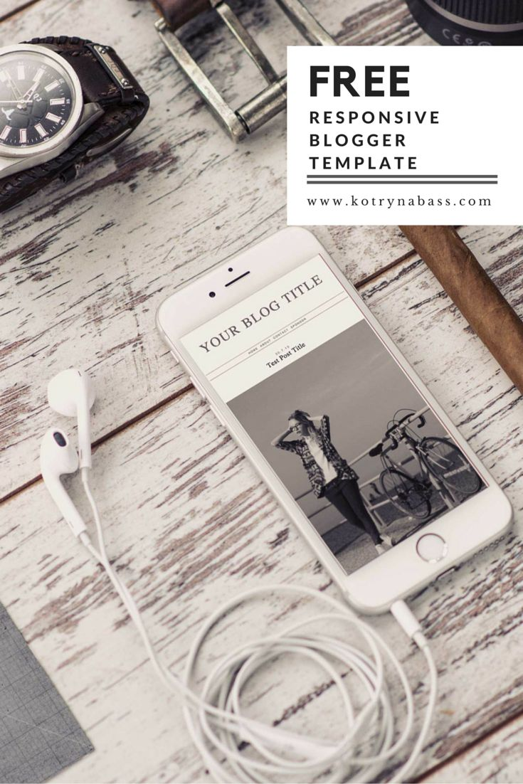 If you're just starting out and need a quick update for your blog, you can download this FREE Blogger Template which is completely responsive and contains all the necessary design elements such as unlimited social media buttons, instagram feed, mobile flexibility and sleek layout!