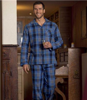 Pyjama Carreaux Flanelle #atlasformen #avis #discount #shopping