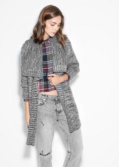 Flecked mohair-blend sweater