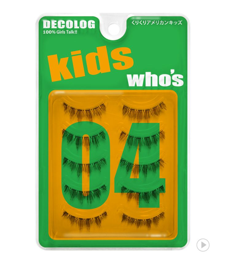 Delolog Who's Eyelash No.4 Kids