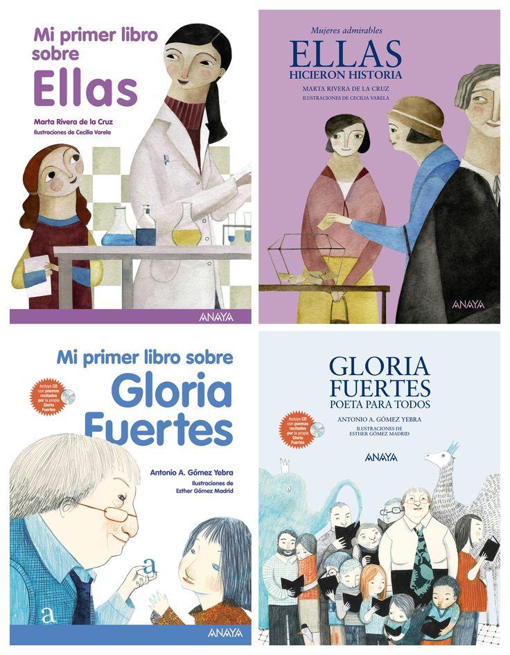 """Colección """"Mi primer libro"""" (Editorial Anaya) #MujeresDeLaHistoria"""