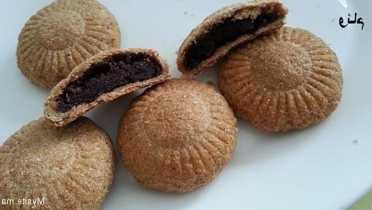 حلويات مغربية حلوة التمر بالقمح الكامل بدون سكر او زبدة 2015