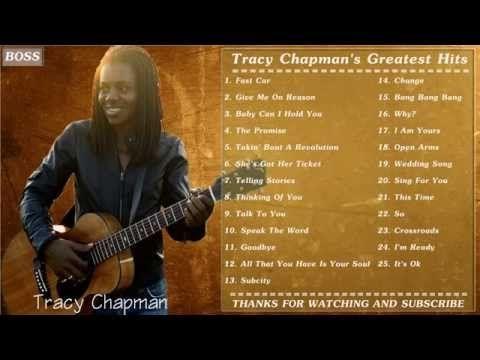 Tracy Chapman | Best Of Tracy Chapman | Tracy Chapman's Greatest Hits Full Album - YouTube