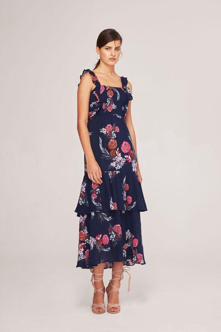 Steele - Botanica Maxi Dress - Midnight