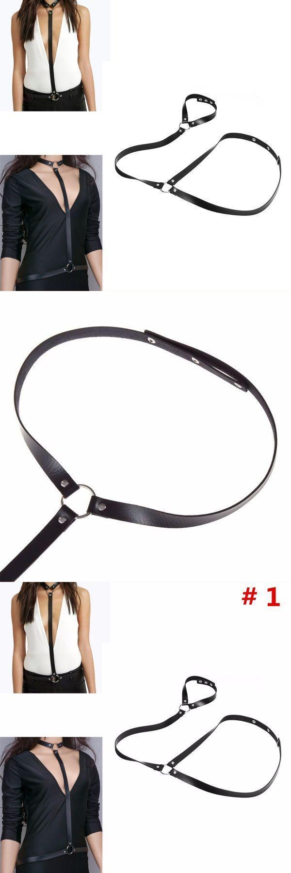 Women sexy black body harness synthetic leather suspenders adjustable harajuku suspenders corset et bustier blanc #bustier #corset #noel #bustier #corset #tops #uk #corset #bustier #top #corset #o #bustier