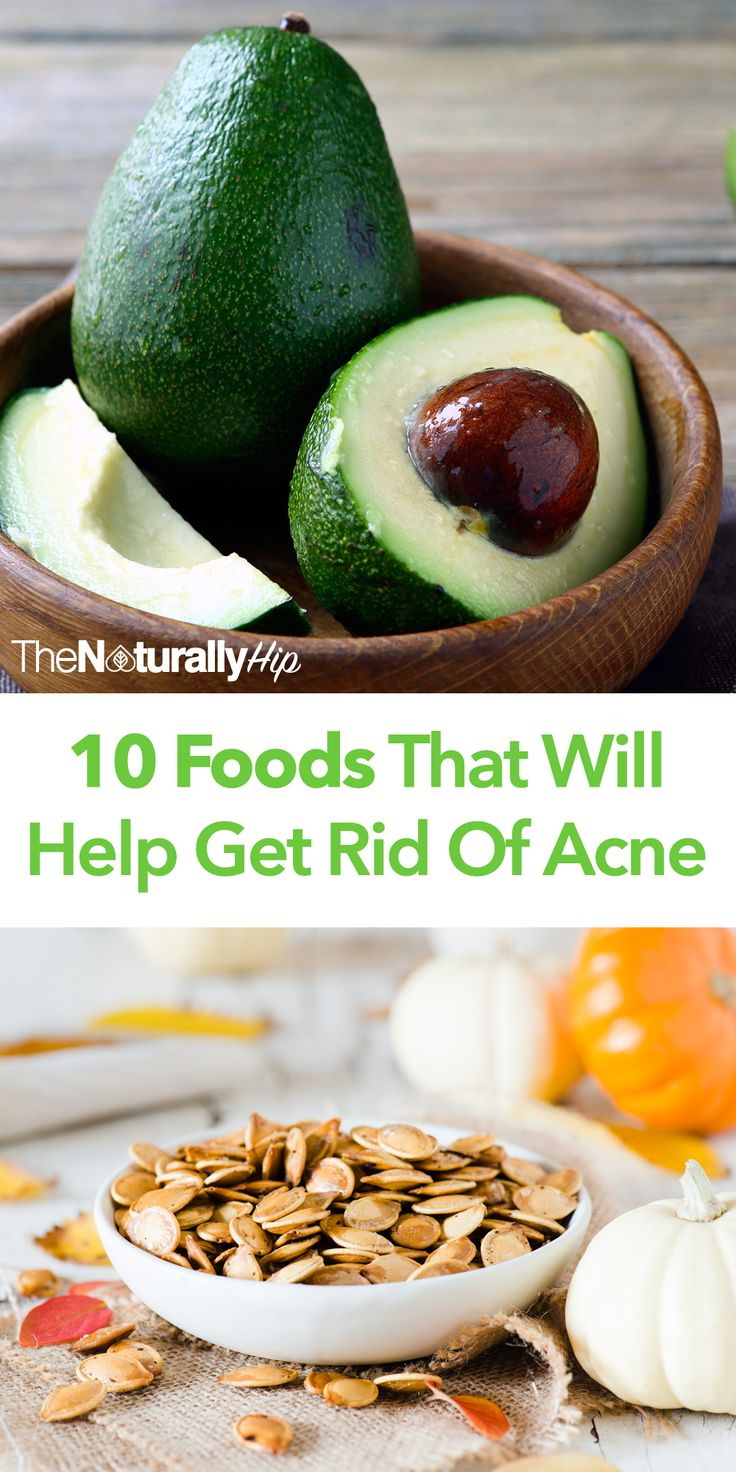 10 Foods That Will Help Get Rid Of Acne   Adults can now easily get rid of acne with these foods...