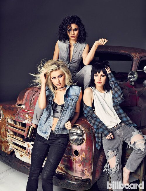 The Grease Live ladies for Billboard by    Eric Ray Davidson