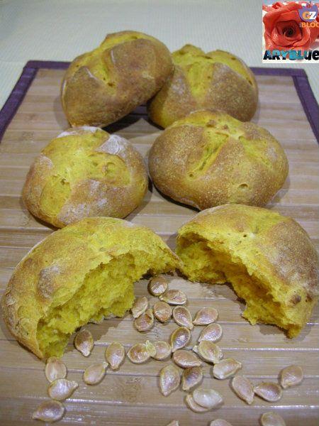 Pane alla Zucca con Pasta Madre - Aryblue