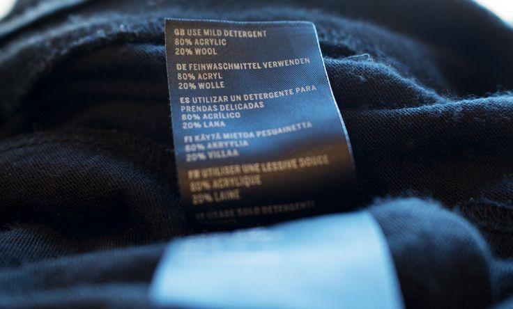 Olika typer av textila material