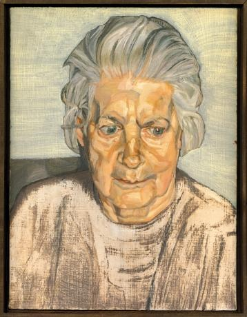 "Lucian Freud's ""The Painter's Mother"