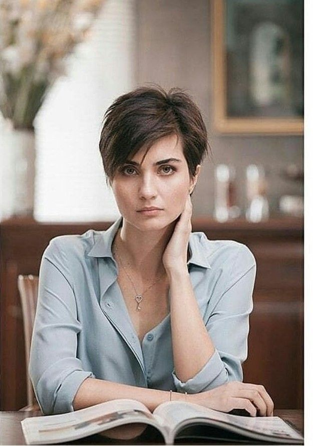 Tuba Buyukustun Hair Models Short Haircuts In 2019