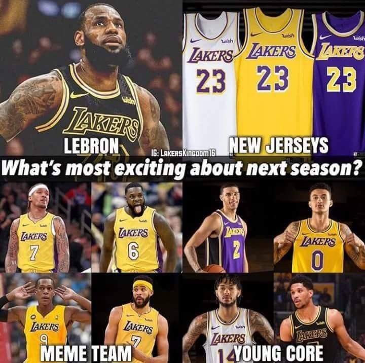 Pin By Re Shawn Grimes On Lakers Favorites Sports Memes Nba Teams Lakers