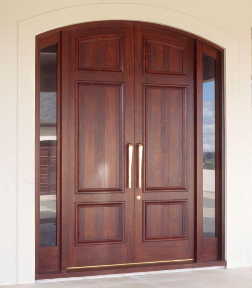 Solid Main Double Door Hpd336 - Main Doors - Al Habib Panel Doors