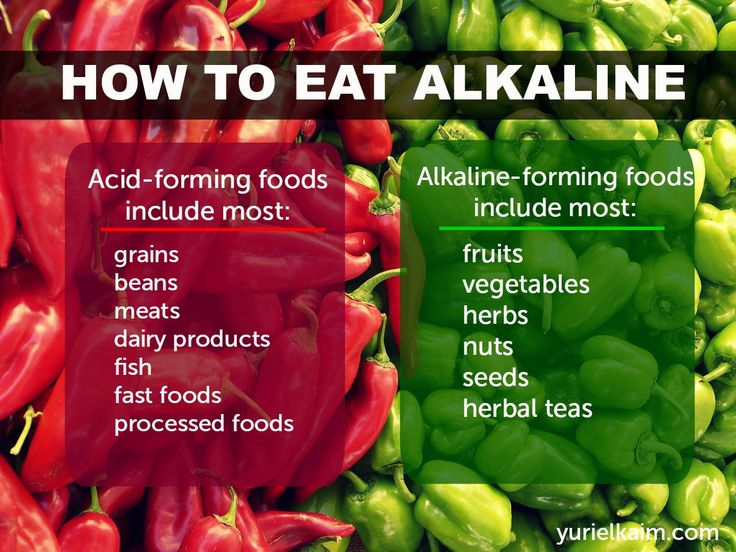 Why You Need to Eat an Alkaline Diet (And How to Do It ...