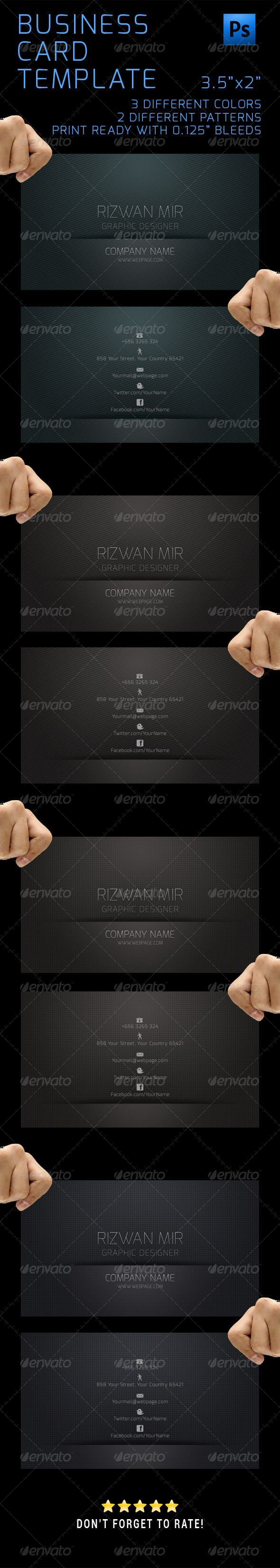 7 best business cards template images on pinterest
