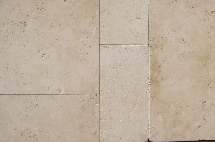 Ivory Travertine tumbled french pattern set #travertine #frenchpatternset #tiles