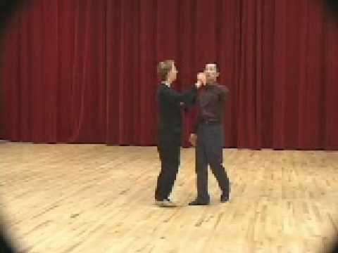 ▶ Beginner Social Foxtrot - Basic Step Ballroom Dance Lesson - YouTube