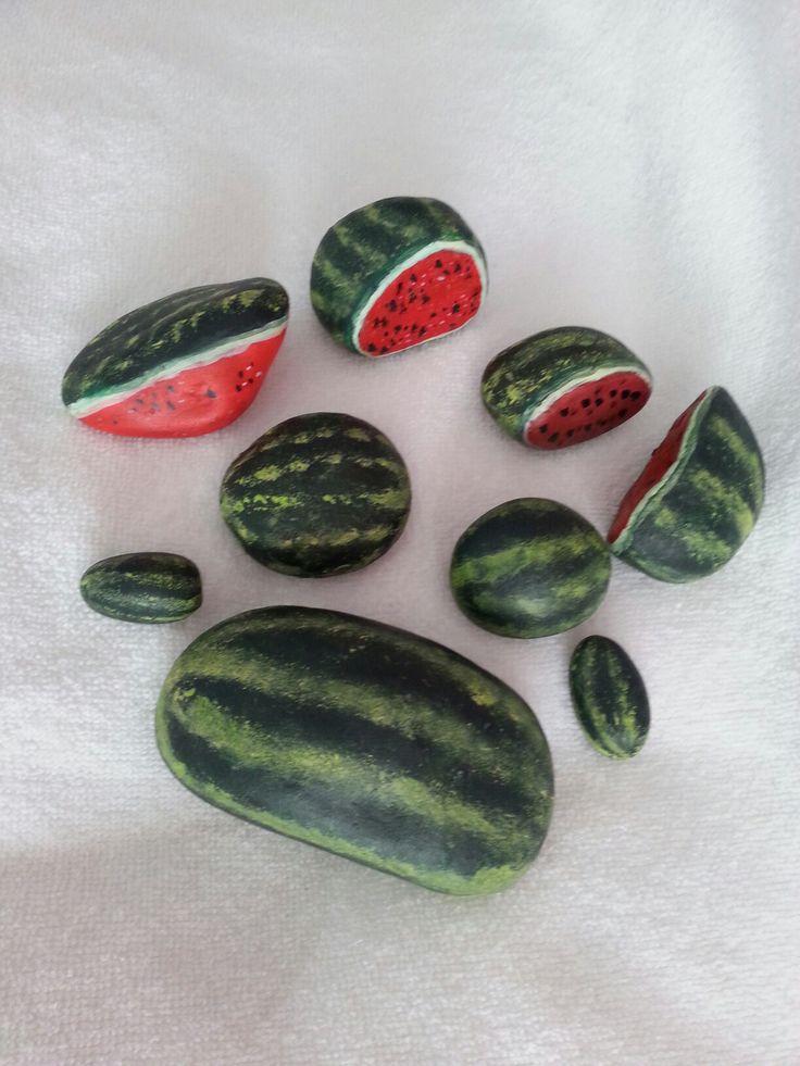 Watermelon pebbles