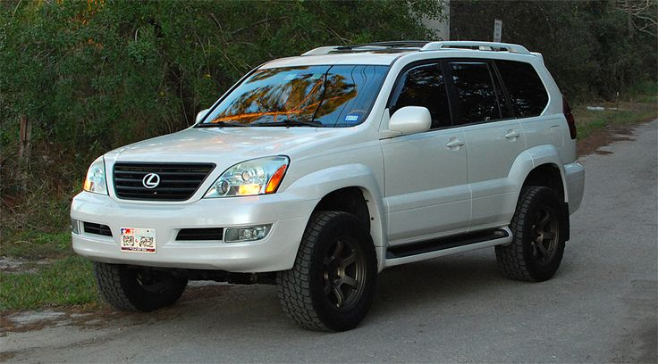 Lifted Lexus GX470 on 285/60R18                                                                                                                                                                                 More