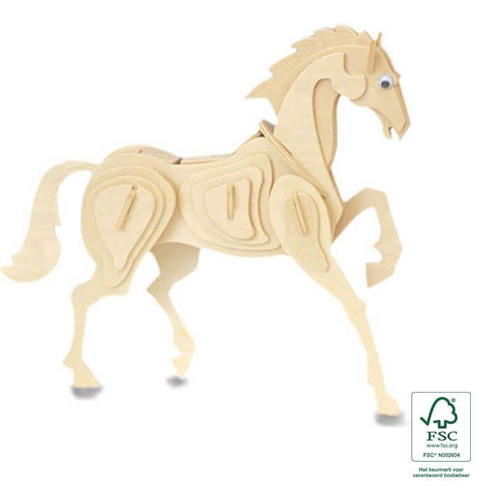 Pasen - Houten bouwpakket paard