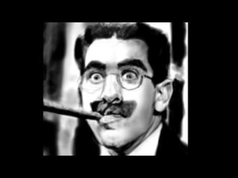 Portrait of Groucho Marx