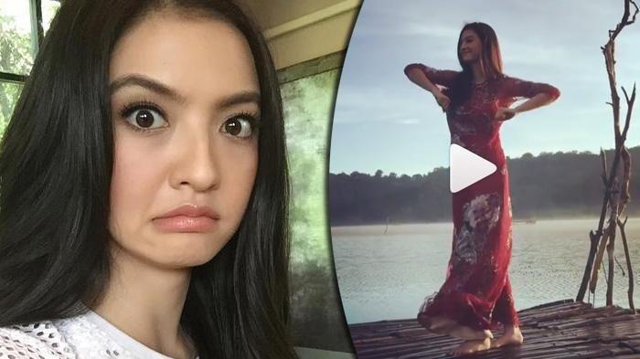 Raline Shah Instagram - Cantik dan Nggak Jaim, Bintang Film 5 Cm Ini Lakukan Tarian Kocak