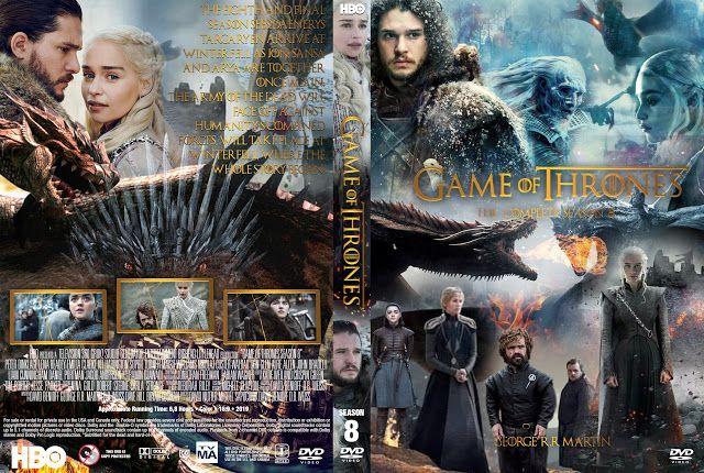 Game Of Thrones Season 8 Dvd Cover