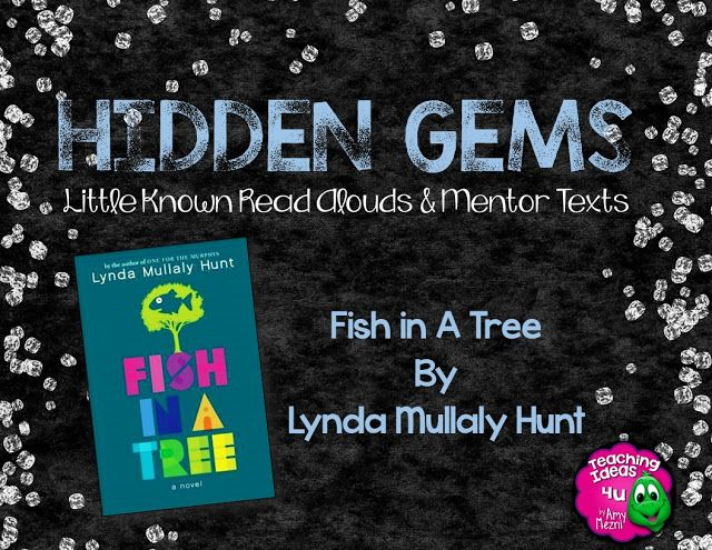 HIdden Gems: Fish in a Tree is an excellent book for teaching characterization…