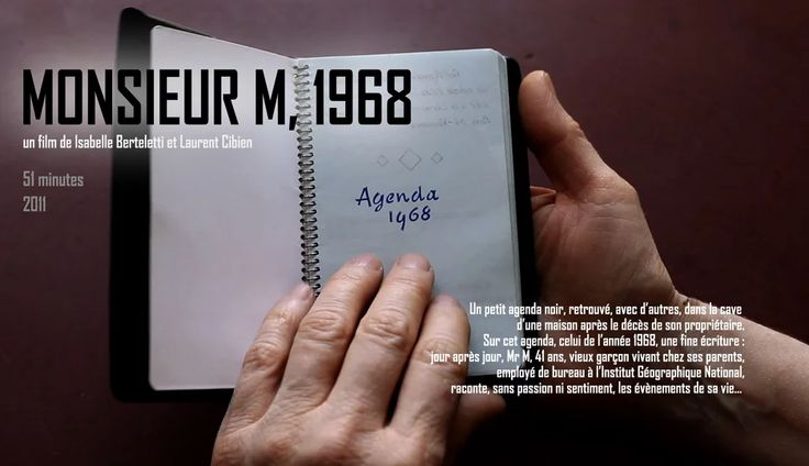 MONSIEUR M, 1968 on Vimeo