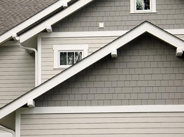 Offering the same warm, authentic look as cedar shingles, this James Hardie siding with a North Carolina and Virginia style resists rotting, cracking and ...