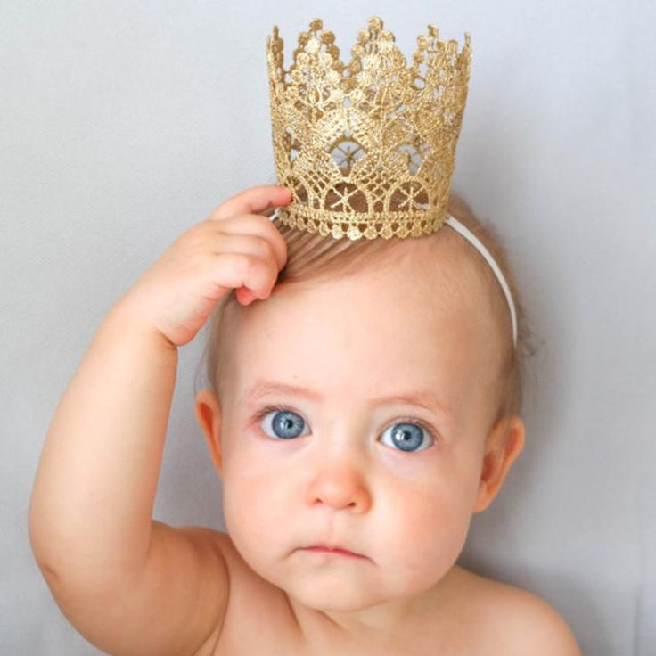 Аксессуары для волос Новорожденных Фотографии Эластичного Кружева Цветок Корона Шаблон Головные Уборы Hairband для Детей Turbantes #1102