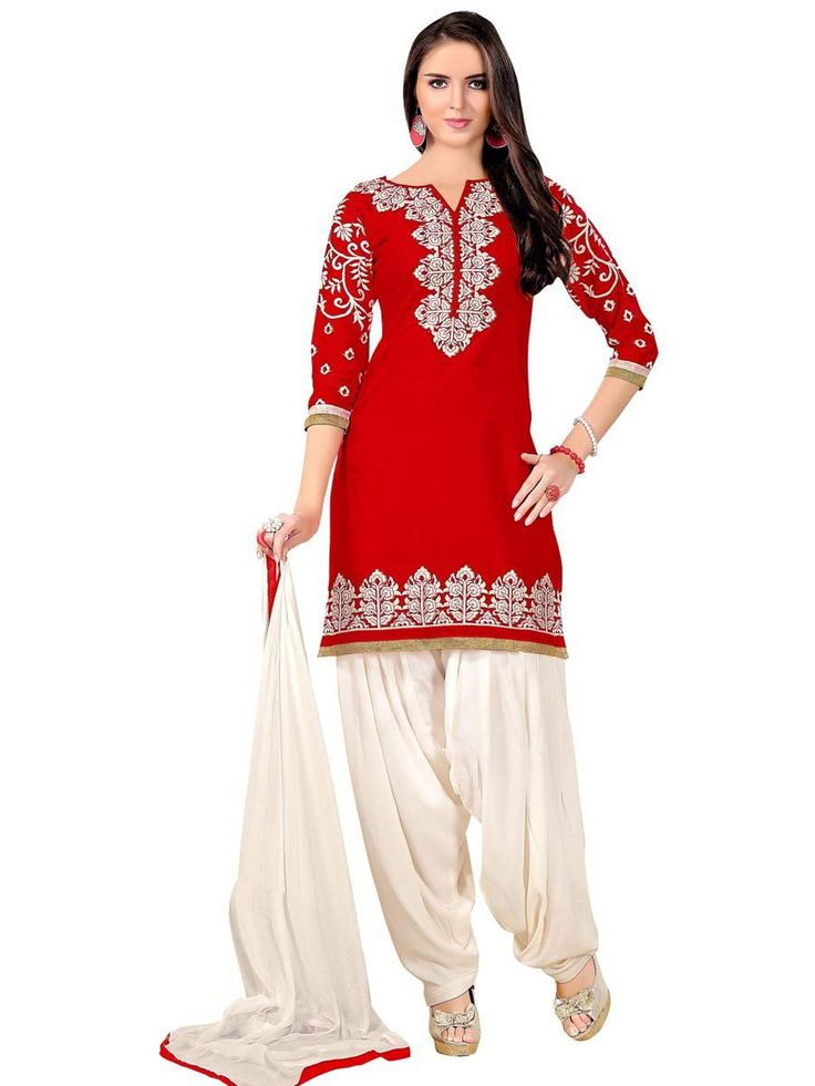 Fabulous looking #suit is a blessing to the eye.  Item Code: SLANA10003K http://www.bharatplaza.com/new-arrivals/salwar-kameez.html