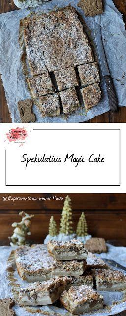 Experimente aus meiner Küche: Spekulatius Magic Cake