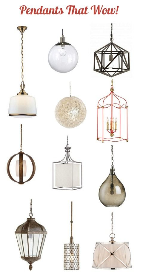 We've had a single plain chandelier hanging in our kitchen for a few years and the more I browse the galleries of modern kitchens, the more I notice the wow factor from eye catching pendant fixtures suspended over a kitchen island. We're convinced it's time to upgrade to a similar look. Polygonal faceted [...]