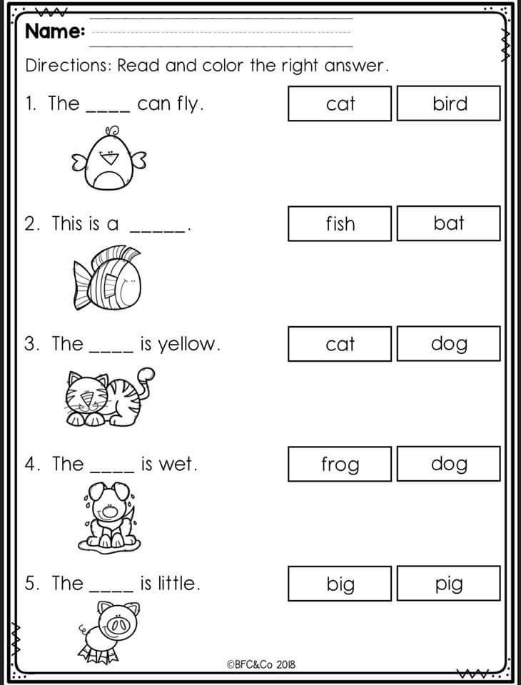 Pin By Khadine Bridgeman On Jubchayworksheet Kindergarten Reading  Worksheets, Kindergarten Reading, Reading Comprehension Kindergarten