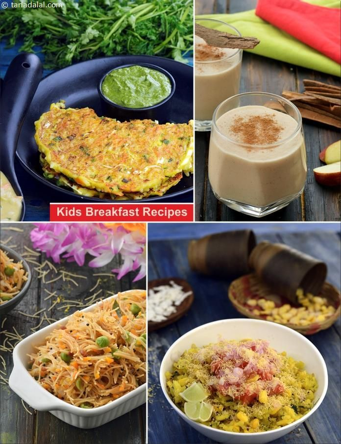 Breakfast Recipes For Kids Indian Breakfast Recipes For