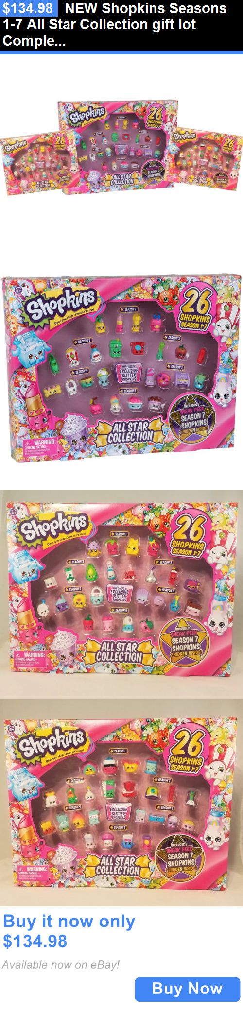 Toys And Games: New Shopkins Seasons 1-7 All Star Collection Gift Lot Complete Set 1 2 3 4 5 6 7 BUY IT NOW ONLY: $134.98