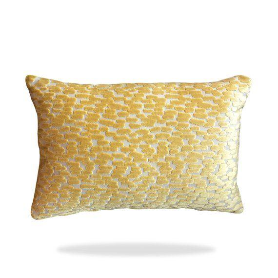 Duralee Fabric Velvet Banana Raised Canary Yellow