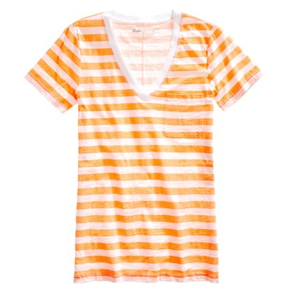 Striped V-neck Pocket TeeVneck Pocket, Stripes In The Neck, Style, Madewell Stripes, Awesome Clothing, Stripes Vneck, V Neck Pocket, Fashion Finding, Pocket Tees