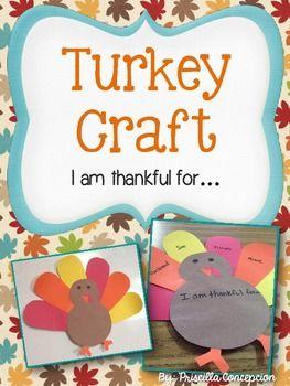 FREEBIE! Turkey Craft