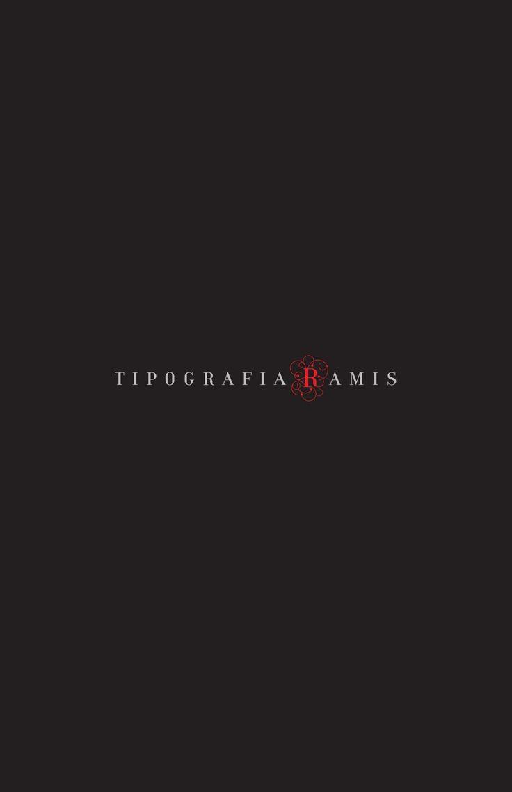TR Black Book  TipografiaRamis selected works 1995-2005