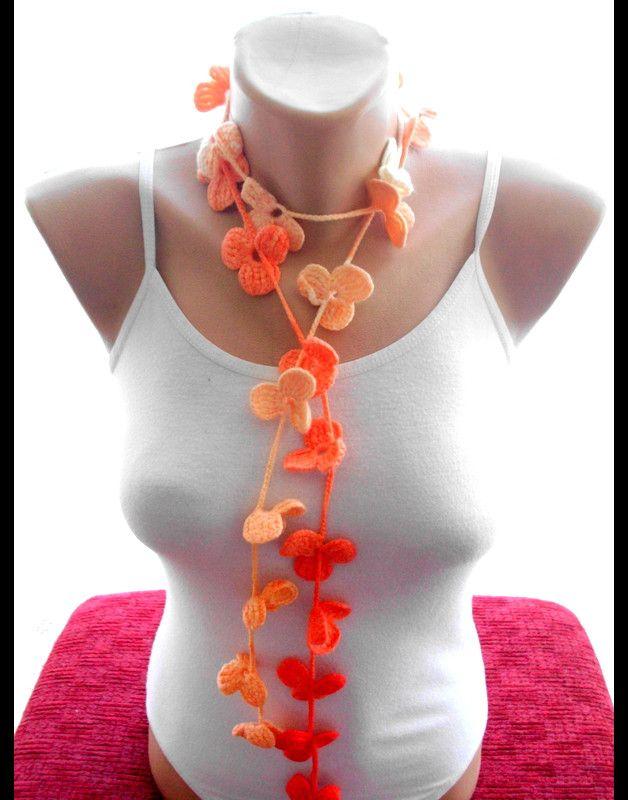 51 besten crochet lariat scarf Bilder auf Pinterest | Häkeln, Schals ...