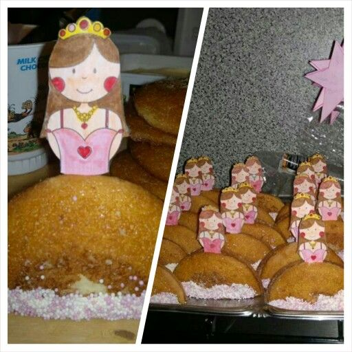 Traktatie, prinses van eierkoek!