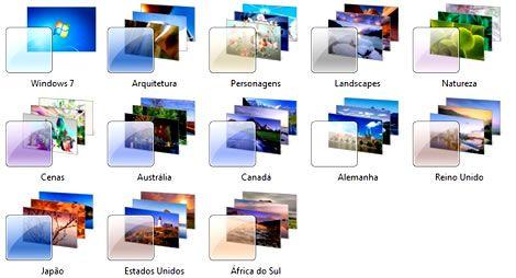 Como ativar e usar temas escondidos no Windows 7