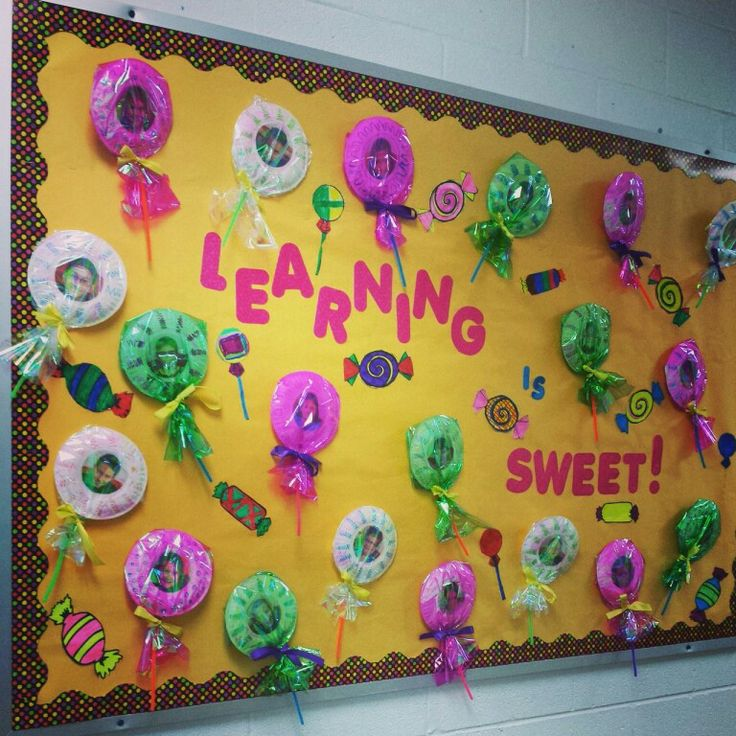 Candy Bulletin board