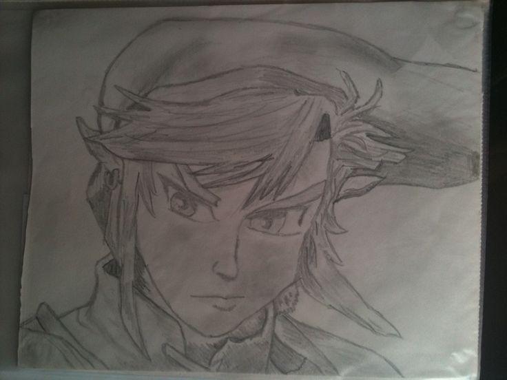 rough sketch zelda: link