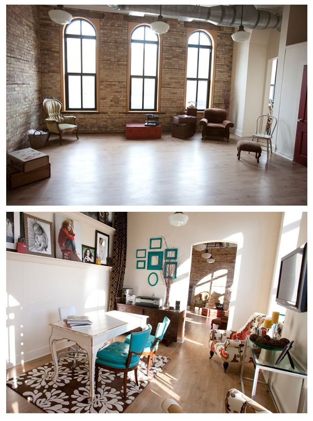 Here's my vision - I want to find a amazing loft space one day and hope i can afford it when i do.. need lots of new clients! :)