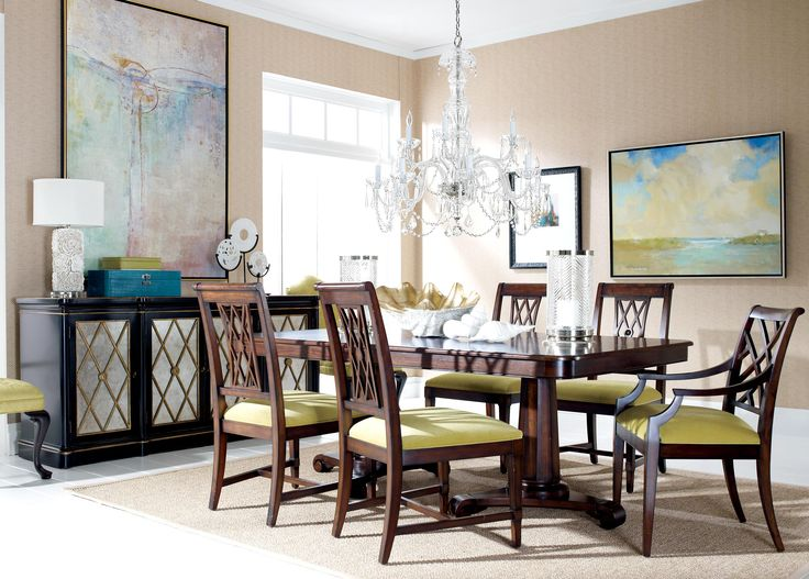 Watercolor Dining Room | Ethan Allen