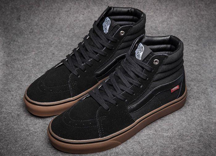 bf88aebf5e Vans SK8 Hi Ultracubh Pro Classics Skate Shoes Black  Vans ...