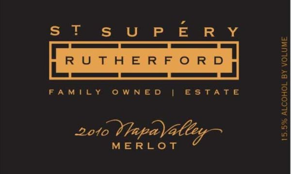 2010 St. Supéry Merlot Rutherford
